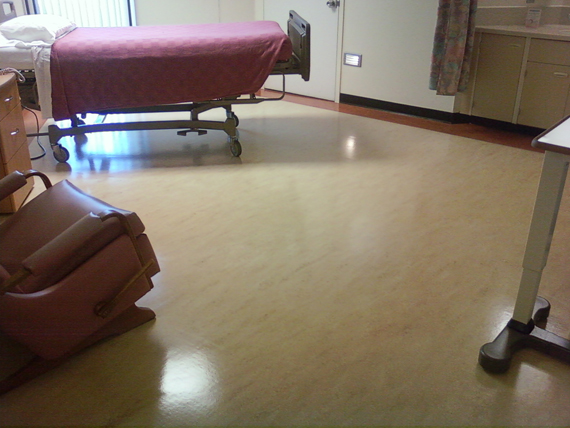 many linoleum floors are a very old type of flooring constructed of linseed oil and felt many people call any resilient flooring